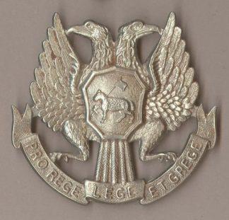 ENALMOND SCHOOL w/m Glengarry badge