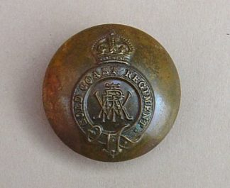 LD COAST REGIMENT KC 25mm OR'S brzd BUTTON