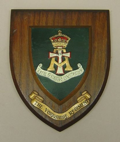 GREEN HOWARDS wall plaque