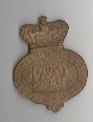 ENADIER GUARDS valise badge Queen Victoria Crown