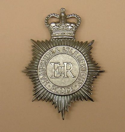MPSHIRE & ISLE OF WIGHT POLICE QC Chrome ERII