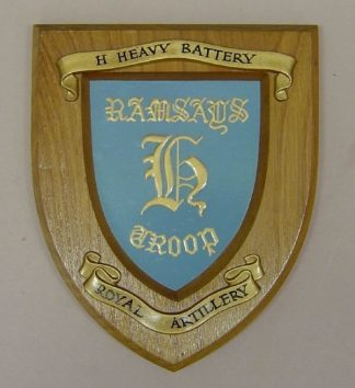 HEAVY BATTERY ROYAL ARTILLERY wall plaque