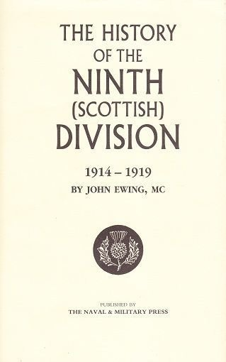 History of the Ninth (Scottish) Division