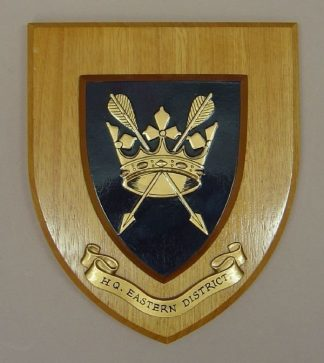 HQ EASTERN DISTRICT wall plaque