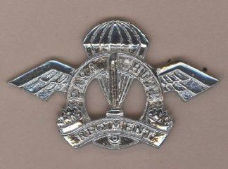 INDIAN PARACHUTE REGIMENT Cap Badge Chrome