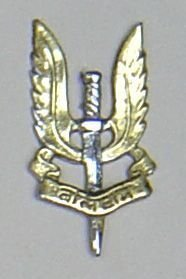INDIAN SPECIAL AIR SERVICE bi-metal OR's breast badge