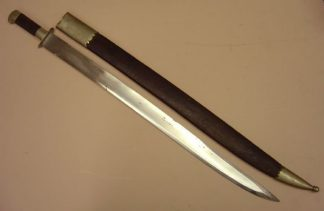INDIAN SWORD, in scabbard