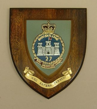 INNISKING FUSILIERS wall plaque