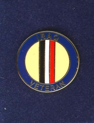 AQ VETERAN lapel badge