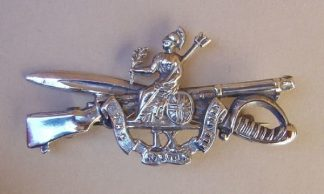 THE NORFOLK REGIMENT H.M.Silver bar broach