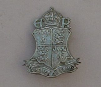 KING CHARLES I SCHOOL, KIDERMINSTER w/m cap badge