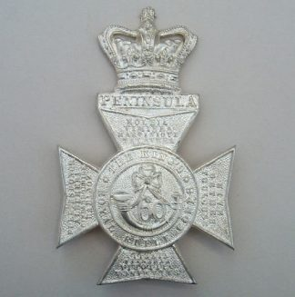 NGS ROYAL RIFLE CORPS Q.V.C. OFFICERS HP silv.pl