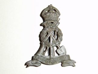 BOUR CORPS KC O.S.D. Bronze cap badge
