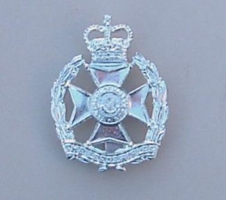 EDS RIFLES QC a/a cap badge