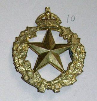 REGIMENT DE MONTMAGNY KC or's cap badge