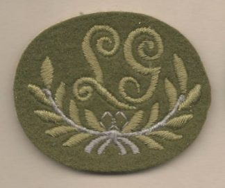 L.G embroidered wool worsted for Service Dress