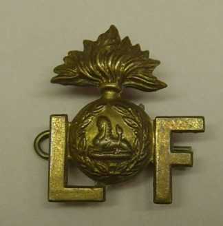 GRENADE-F, Lancashire Fusiliers g/m or's shoulde