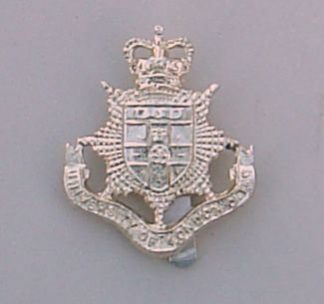 NDON UNIVERSITY O.T. C., QC a/a cap badge