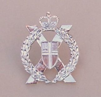 LONDON YEOMANRY and TERRITORIALS QC a/a cap badge