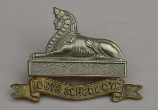 UTH SCHOOL O.T.C. or's bi/m cap badge