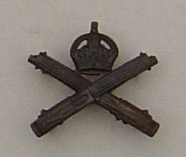 MACHINE GUN CORPS O.S.D. bronze collar dog