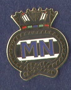 MERCHANT NAVY - LAPEL BADGE