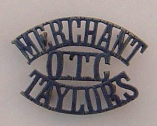 MERCHANT- OTC - TAYLORS 3-line black s/ title