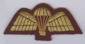 MESS DRESS Gold bullion embroidered on Maroon