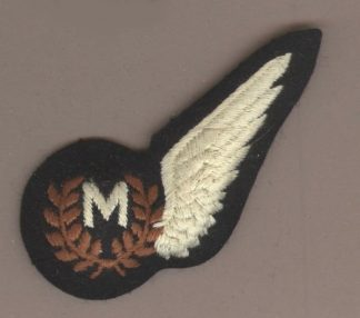 METEORLOGICAL OBSERVER HALF WING mach embroidered