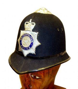 METROPOLITAN  POLICE 'Bobby' HELMET