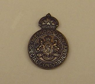 METROPOLITAN POLICE SPECIAL CONSTABULARY lapel bad