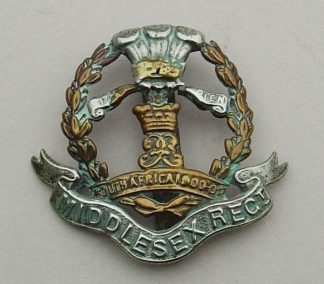 MIDDLESEX REGIMENT bi/m or's 'South Africa 1900-02