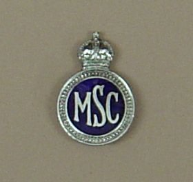 MIDDLESEX? SPECIAL CONSTABULARY KC Chrome/enamel
