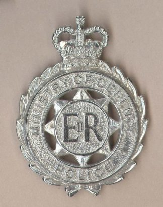 MINISTRY OF DEFENCE POLICE QC Chrome c/b