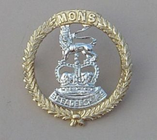 MONS OFFICER CADET SCHOOL a/a cap badge