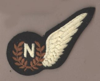 NAVIGATOR HALF WING machine embroidered