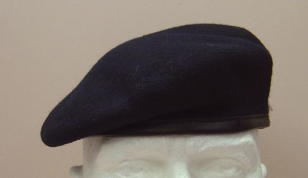 NAVY BLUE BERET- R A , Royal Navy, most Infantry R