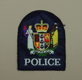 NEW ZEALAND POLICE CLOTH SLEEVE BADGE