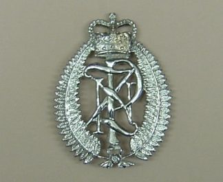 NEW ZEALAND QC Cap Badge CHROME