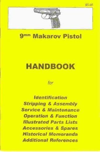 No.16  9mm Makarov Pistol 'YHB'