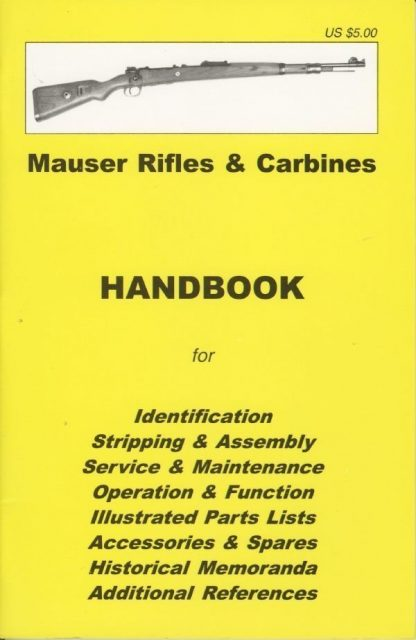 No.17 Mauser Rifles and Carbines 'YHB'