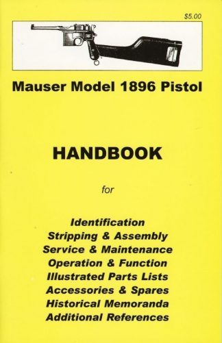 No.18  Mauser Model 1896 Pistol 'YHB'