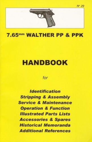 No.29 7.65mm Walther PP & PPK