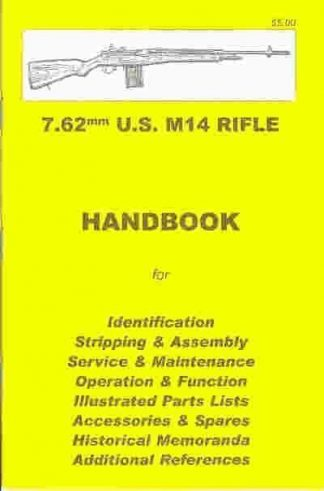 No.5 7.62mm U.S. M.14 RIFLE 'YHB'