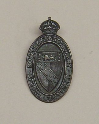 NORFOLK CONSTABULARY KC Bronze lapel badge