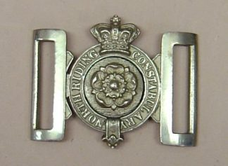 NORTH RIDING CONSTABULARY QVC interlocking belt buckle