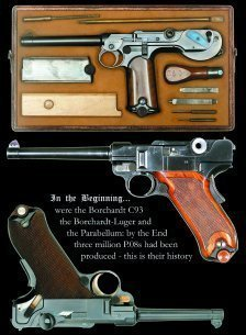 Pistole Parabellum - History of the Luger System - 3 VOLUME SET