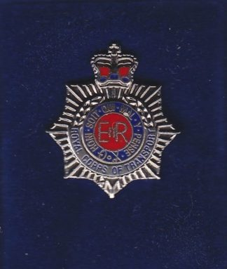 RCT lapel badge CAP BADGE enamle QC
