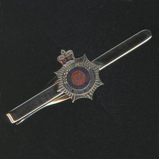 RCT tie clip CAP BADGE enamel QC