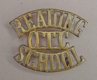 READING O.T.C. SCHOOL g/m 3-line shoulder title